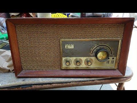 Arvin 32R43 1963 AM FM Radio Repair