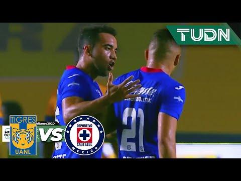 ¡LA BRONCA! 'Cabecita' acabó encendido |Tigres 0-1 Cruz Azul | Guard1anes2020 Liga BBVA MX| TUDN