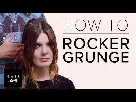 Rocker Grunge Hairstyle Ft. Guido Palau   Hair.com