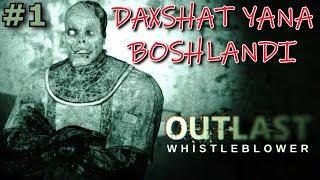 Outlast Whistleblower ► DAXSHAT YANA BOSHLANDI #1