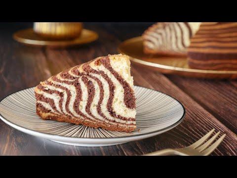 gateau-marbrÉ-zÉbrÉ-recette-facile---zebra-cake