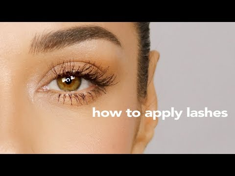 How To Apply Individual Lashes | Easy Tutorial for Beginners | Eman