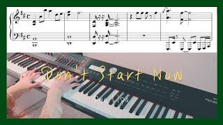 Dua Lipa - Don't Start Now Piano Cover