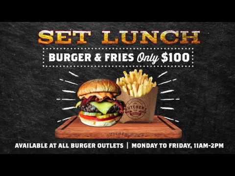 Introducing Set Lunch