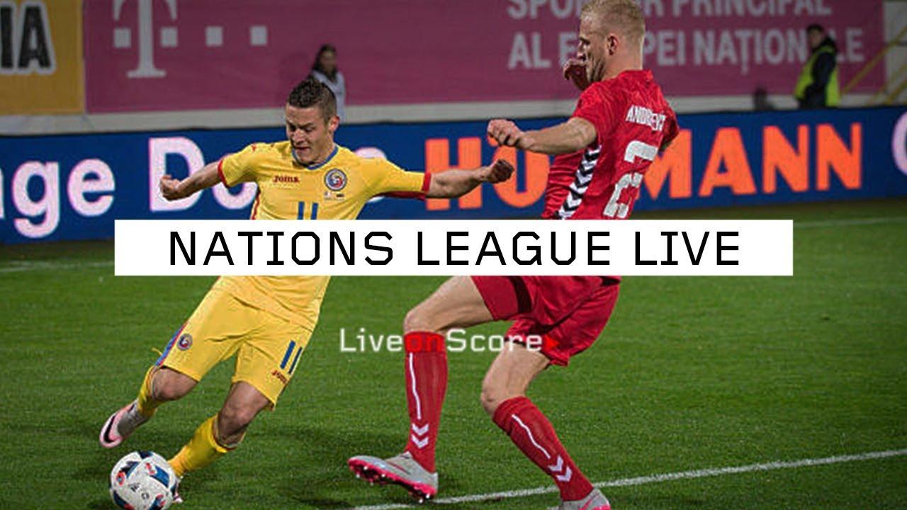 Romania vs Lithuania - Uefa Nations League 2018 - YouTube