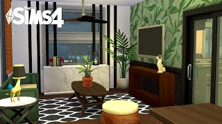 Eclectic Contemporary Apartment Pt. 1 (no Cc)   The Sims 4 Speed Build