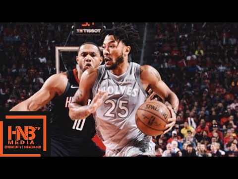 89a2148b107d Houston Rockets vs Minnesota Timberwolves Full Game Highlights   Game 1    2018 NBA Playoffs