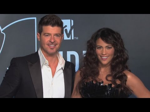 Startling 911 Call Released In Robin Thicke-Paula Patton Custody Battle