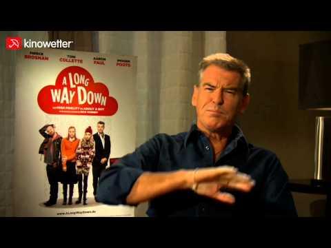 Interview Pierce Brosnan A LONG WAY DOWN