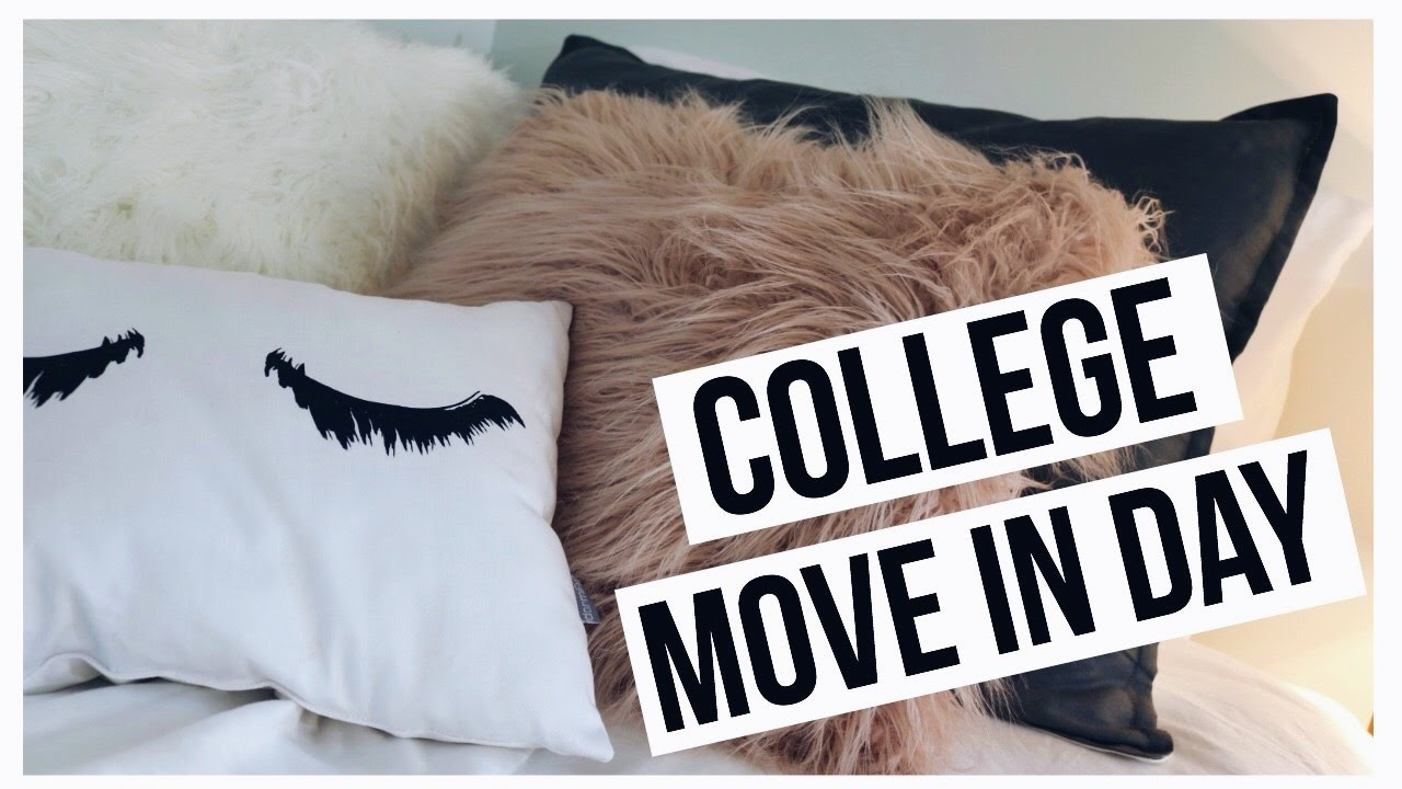 MOVE IN DAY AT COLLEGE | MOVING INTO MY FIRST APARTMENT