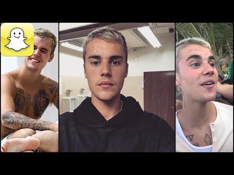 Justin Bieber - Snapchat Video Compilation (Best 2017★) #4