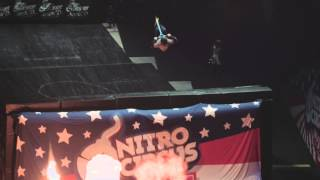 Ryan Williams Triple Backflip Nitro Circus Live Salt Lake City, Ut