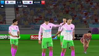 Argentina vs Russia Dream League Soccer 2018 International cup #114