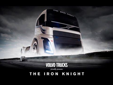 PREMIERE: Volvo Trucks –The Iron Knight –Verdens raskeste lastebil