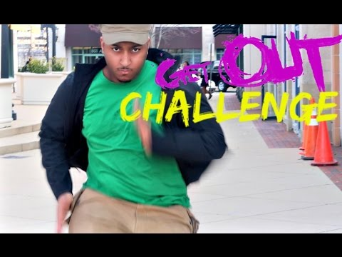 #GetOutChallenge IN PUBLIC!!!! (POLICE FOLLOWED US LOL)!!!!