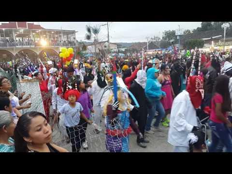 Carnaval Mecapalapa Pantepec 2017 1ra parte