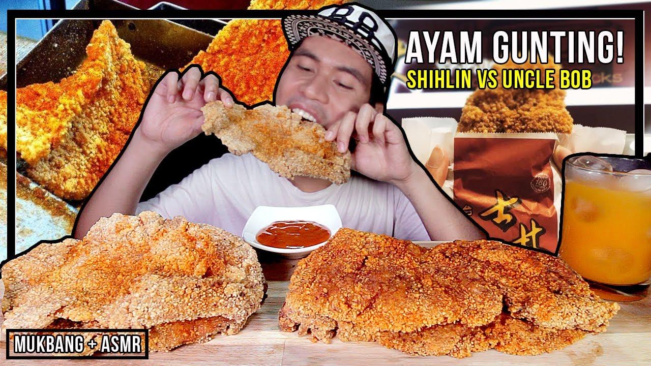 Ayam Gunting Mana Lagi Sedap Uncle Bob Ke Shihlin Taiwan Rungsing Asmr Mukbang Youtube