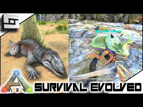 ARK: Survival Evolved - DIMETRODON/DUNG BEETLE TAMING FAIL! S3E13 ( Gameplay )