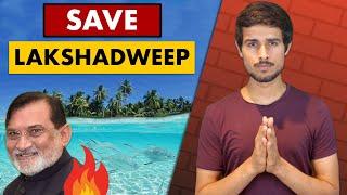 Lakshadweep in Danger  What is happening?   Praful Patel   Dhruv Rathee