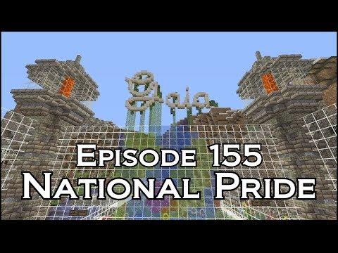 Gaia Community Server Episode 155 - National Pride - Minecraft XBOX One - Beancrew49