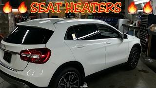 installing heated seats in 2017 mercedes gla250