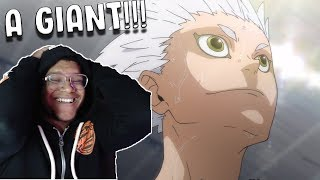 HAIKYUU SEASON 4 EP. 12 REACTION! - A LITTLE GIANT! ROUND 2!