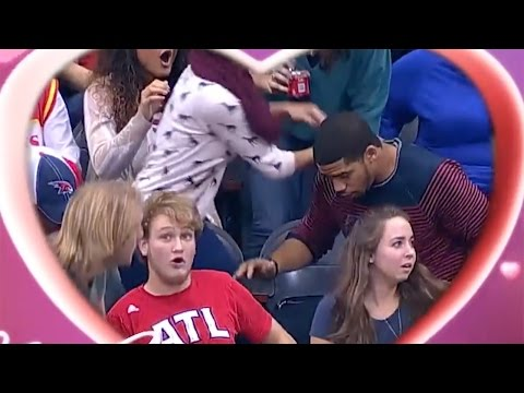 Watch Fan DROP Ring During Atlanta Hawks Kiss Cam Marriage Proposal - But Was it Fake?