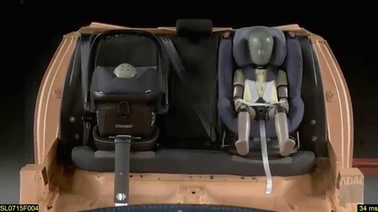 Adac Child Seat Test Ii 2017