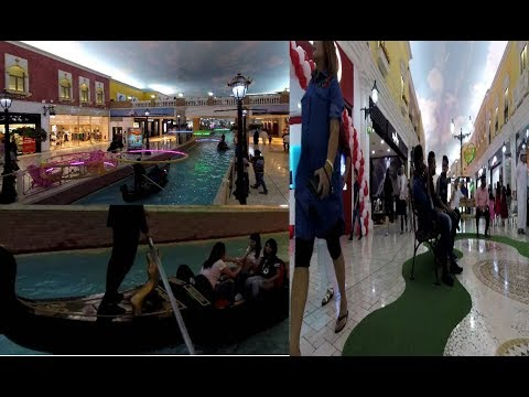 Most Attraction of Qatar, Villaggio Mall, like Venice Italy with indoor canal and gondolas| # 01