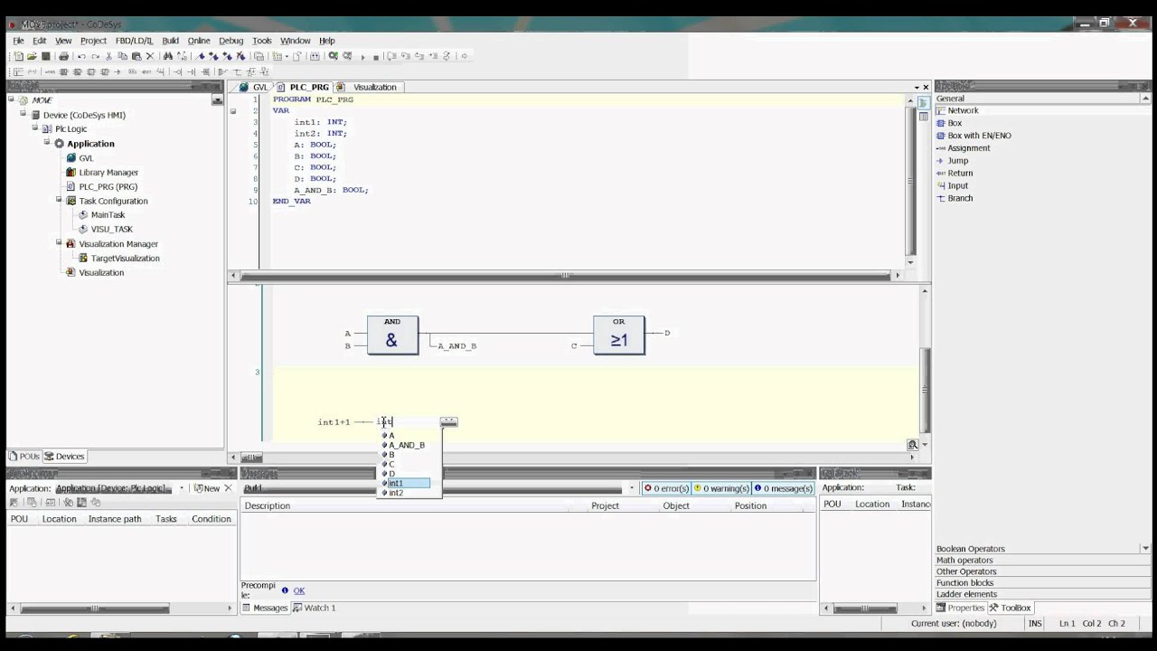 CoDeSys V3 5SP4 MOVE and assignment example | Doovi