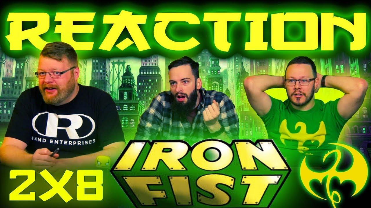 "Iron Fist 2×8 REACTION!! ""Citadel on the Edge of Vengeance"