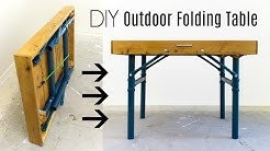 Outdoor Folding Table | How to Build