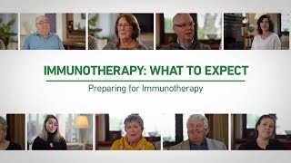Preparing for Immunotherapy