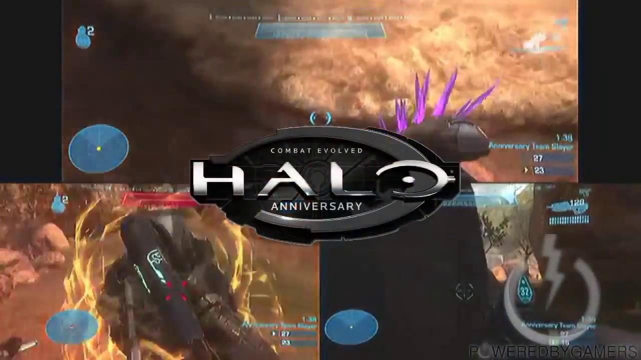 Comparison: Halo Combat Evolved vs Halo Anniversary LAN multiplayer on Xbox  360