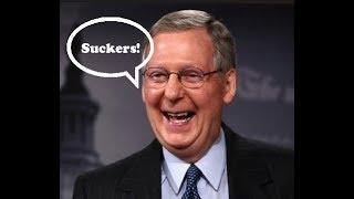 Democrats Cave On Government Shutdown