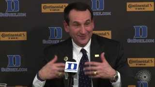 Coach Krzyzewski talks about Jim Boeheim's ejection | CitrusTV