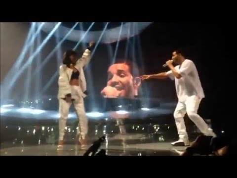 Drake & Rihanna FULL LIVE (Paris) HD