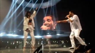 Drake & Rihanna FULL LIVE (Paris) HD