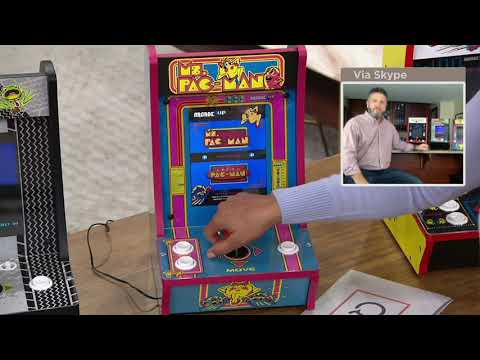 Arcade1Up Choice of Games Countercade Tabletop Home Arcade Machine on QVC from QVCtv