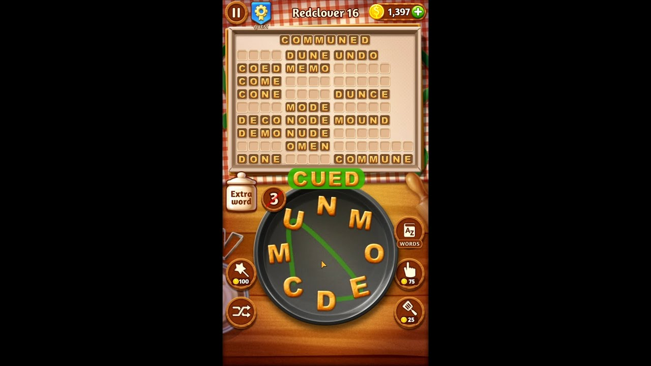 Word Cookies Redclover Levels 15-20 - Maestro Answers