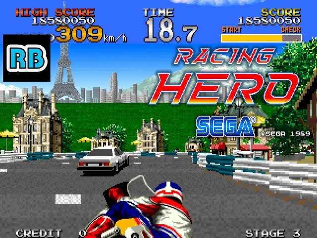 1990 [60fps] Racing Hero ALL