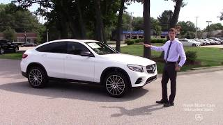 BRAND NEW 2019 Mercedes-Benz GLC300 Coupe 4MATIC® video tour with Spencer