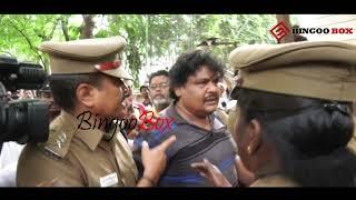 Scene போடாத, போலீசாரிடம் சண்டை... MansoorAliKhan arrested | producer council issue