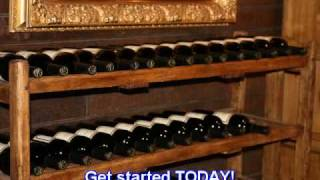Wine Rack Plans, DIY Wine Rack, Build A Wine Rack