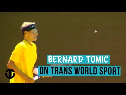 14-Year-Old Bernard Tomic on Trans World Sport