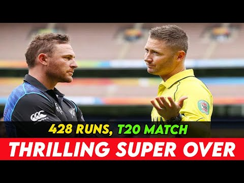 Best T20 Match Ever in Cricket History  428 Runs, NO WINNER! Thrilling Super Over!!!
