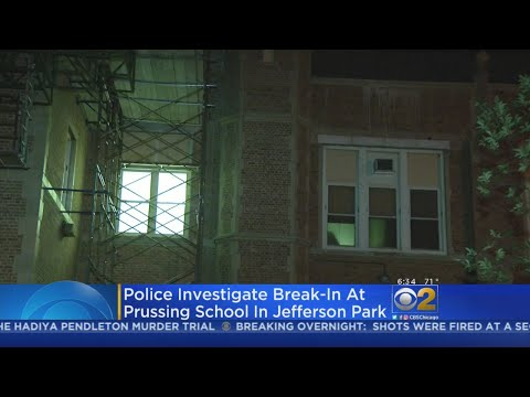 Two Arrested After Break-In At Prussing Elementary School