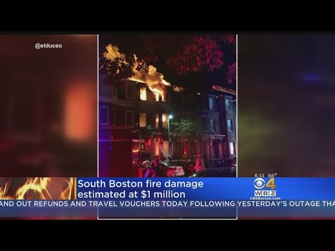 South Boston Fire Causes $1 Million In Damage