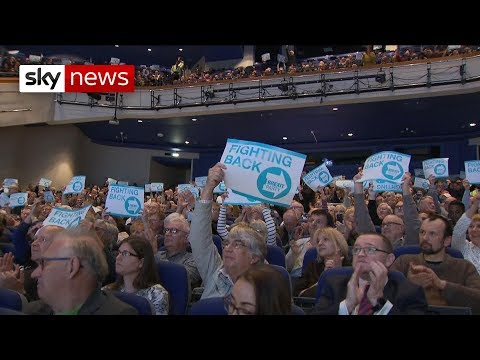A new force in British politics?