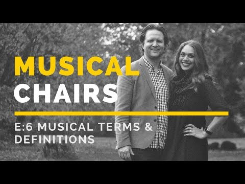 Musical Terms & Expressions: Lesson 1
